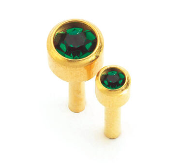 Caflon May Birthstone Ear Piercing Studs 12 pair pack