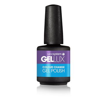Gellux Colour Change Gel Polish Summer 2016 Chameleon Collection - Grape Turquoise 15ml