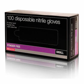 Salon Services Disposable Nitrile Gloves Pack of 100 - Medium