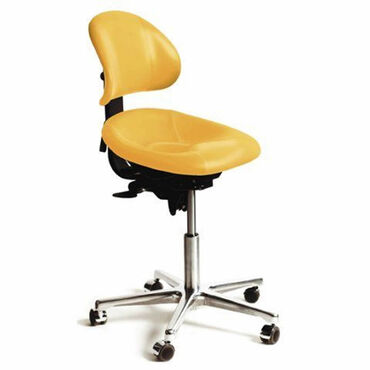 Beauty Express Support Stool Sun Yellow