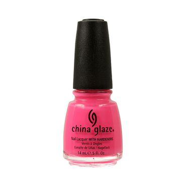 China Glaze Nail Lacquer - Shocking Pink 14ml