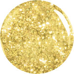 ASP T3 LED UV Glitter Gel - Gold 3.5g