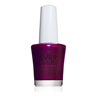 China Glaze EverGlaze Extended Wear Nail Polish - I'm Not Bordeaux 14ml