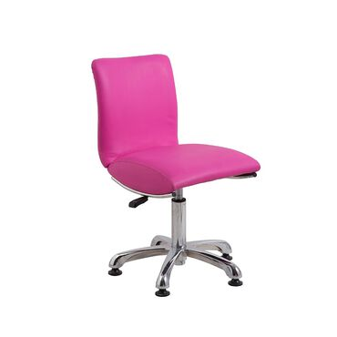 Salon Services Ava High Stem Stool - Pink