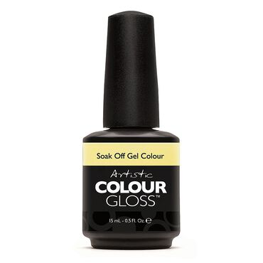 Artistic Colour Gloss Soak Off Gel Polish - Flawless 15ml