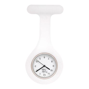 Funky Fobz Analogue Silicone Fob Watch White