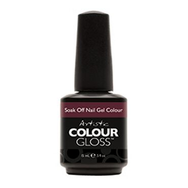Artistic Colour Gloss Soak Off Gel Polish - Intoxicating 15ml