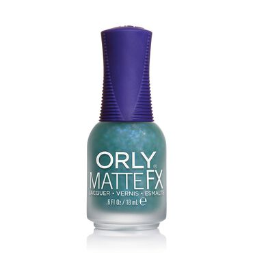 Orly Nail Lacquer Matte It Up Collection - Green Flakey Top Coat 14ml