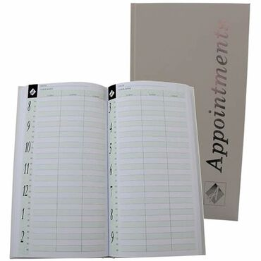 Agenda Salon Concepts Late Night Appointment Book 3 Column