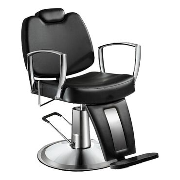 Salon Services Semplice Barber's Chair - Black