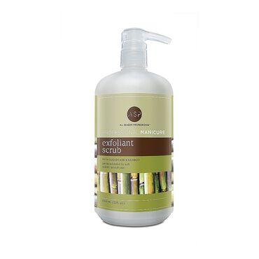 ASP Naturals Manicure Sugarcane and Bamboo Micro Exfoliant Scrub 946ml