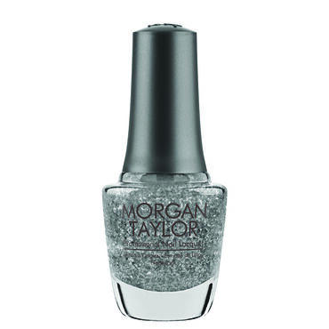 Morgan Taylor Nail Lacquer Little Miss Nutcracker Collection - Silver In My Stocking 15ml