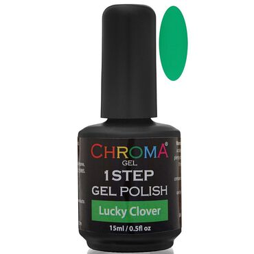 Chroma Gel One Step Gel Polish - Lucky Clover 15ml
