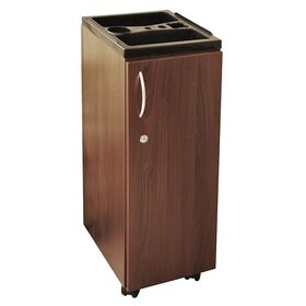 Bellazi Locky Trolley Dark Wood