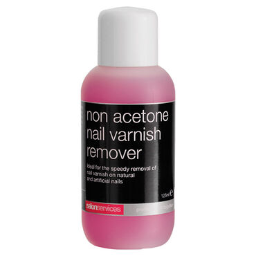 Salon Services Non Acetone Nail Polish Remover 125ml