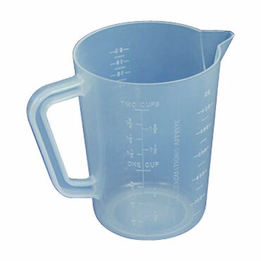 Beauty Express Sibel Plastic Measuring Jug 230ml