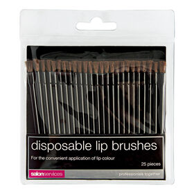 Salon Services Disposable Lip Brushes Pack of 25