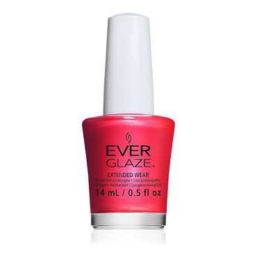 China Glaze EverGlaze Extended Wear Nail Polish - I Wanna Be Your Lava 14ml
