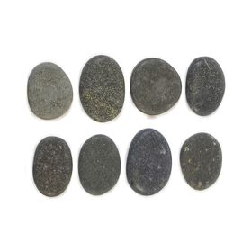 Vulsini Basalt Stones Pack of 8 - Medium