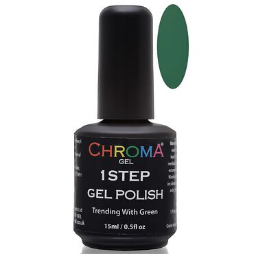 Chroma Gel One Step Gel Polish - Trending With Green 15ml