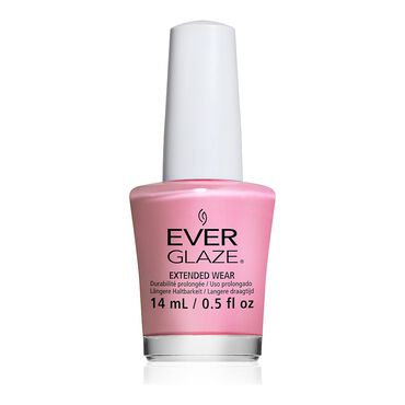 China Glaze EverGlaze Extended Wear Nail Polish - Rose to the Occasion 14ml