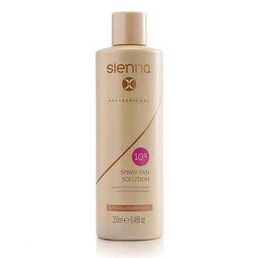 Sienna X Professional Tanning Solution 10% 250ml