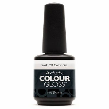 Artistic Colour Gloss Soak Off Gel Polish - Purity 15ml