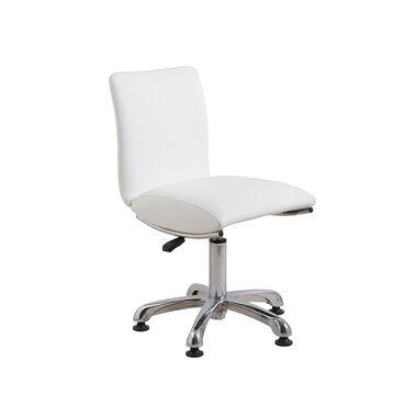 Salon Services Ava High Stem Stool - White