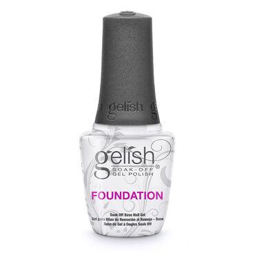 Gelish Soak-Off Nail Polish Foundation Soak-Off Base Gel 15ml