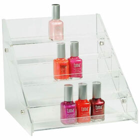 Beauty Express Nail Polish Counter Display For 30 Bottles