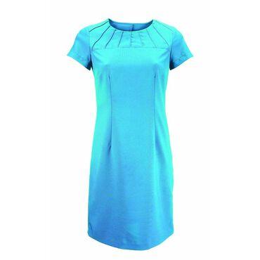 Alexandra Women's Satin Trim Dress - Peacock