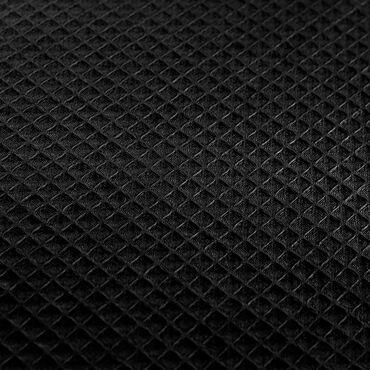Beauty Express Waffle Robe Black Large