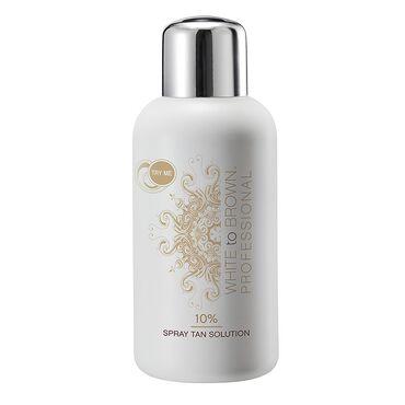 Whitetobrown Professional 10% Spray Tan Solution 250ml