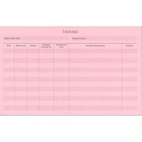 Beauty Express Perm Tinting Record Cards Pack of 50