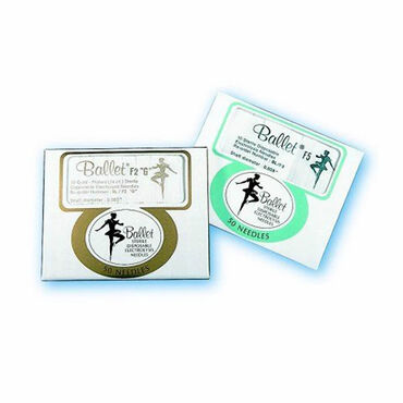 Ballet Insulated Needles 0.003 Pack of 50