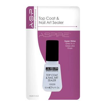 Asp Top Coat Nail Art Sealer Wholesale Nail Supplies Beauty Express