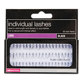 Salon Services Individual Lashes Black Long