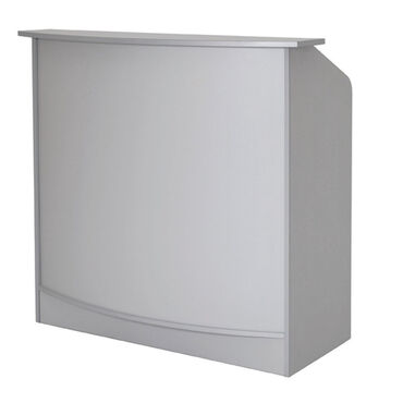 Bellazi Anabel Reception Desk Silver