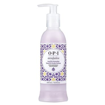 OPI Avojuice Hand and Body Lotion - Vanilla Lavender 250ml