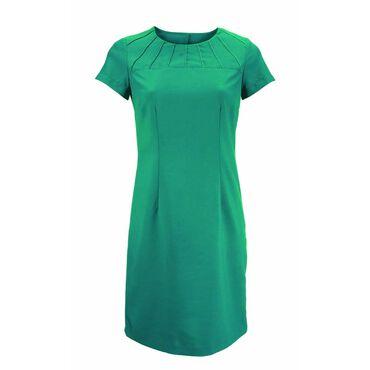 Alexandra Women's Satin Trim Dress - Lagoon
