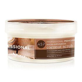 ASP Pedicure Micro Exfoliation Coconut Scrub 453g