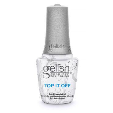 Gelish Soak-Off Nail Polish Top It Off Soak-Off Sealer Gel 15ml